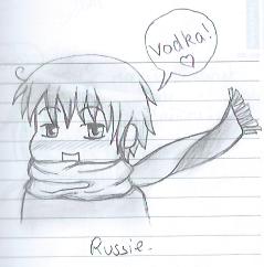 russie dans Manga